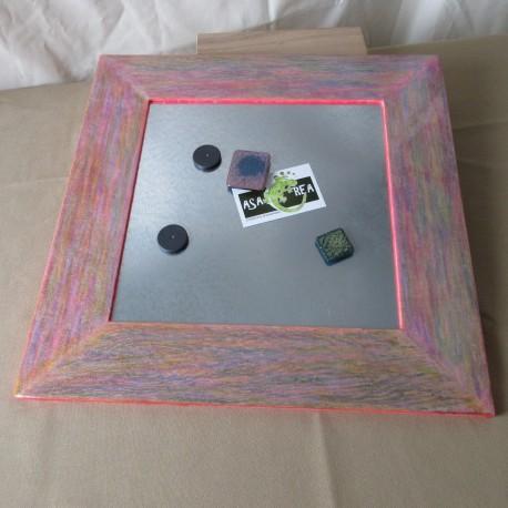 Pèle-mêle cadre bois résine pastel DPM001001