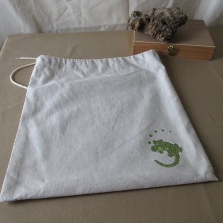 Sac toile épaisse coton flocage logo Asacrea DAC001001