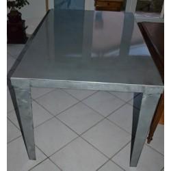 Table de salle à manger industrielle MTA001001
